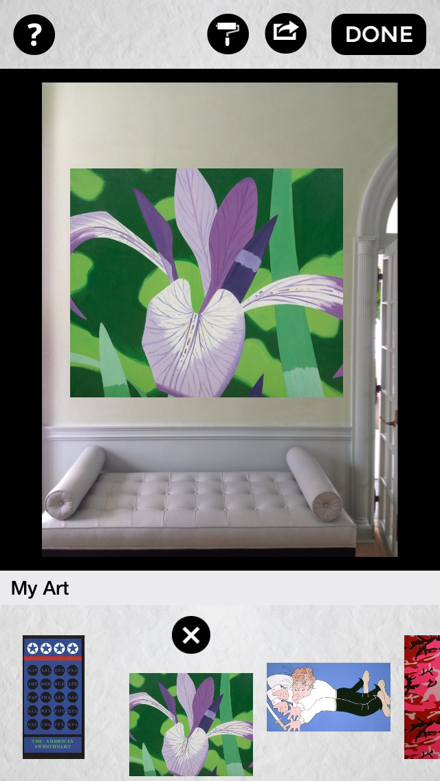 Curate App For Ios Any Art Anywhere Anytime On Your Walls