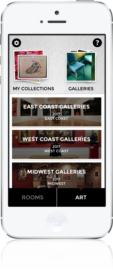 Curate App with Galleries